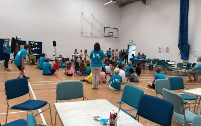 Holiday club in the Sports hall