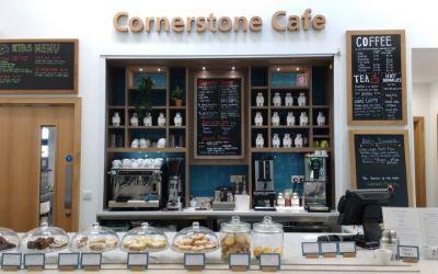 Cornerstone Cafe servery